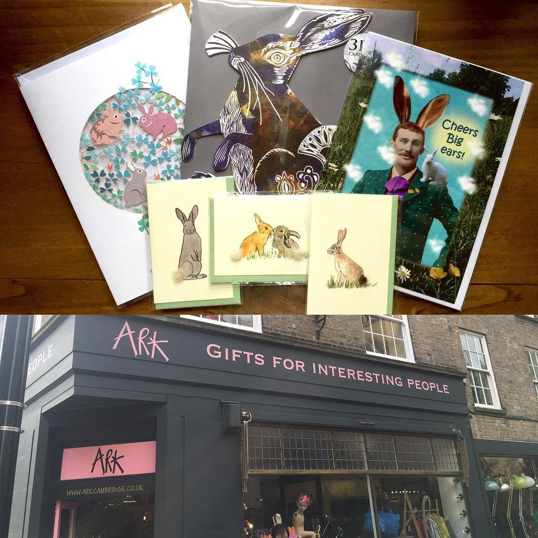 First post coming from . Picked up some awesome Rabbit cards @arkcambridge.co.uk