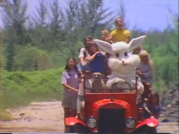 """In preparation for Christmas I recently saw a cult """"funny bad"""" movie, called Santa and the Ice Cream Bunny.  With an impressive! 1,3/10 score on IMDb, I was compelled to see how this rabbit was portrayed in this 1972 film.  The plot is about Santa getting stuck on the beach in Florida with his sleigh. For some reason Santa cannot leave his sleigh, and needs help from kids which he summons through telekinesis?? The kids try to pull out the sleigh with the help of several animals, but the only animal that succeeds is a white rabbit in a fire truck called the Ice Cream Rabbit. Not sure he is called the Ice Cream Rabbit though, he didn't have any ice cream. Also, the rabbit didn't show up until the last 5 min of the approx 90min fantasy musical.   You can see the whole train wreck for yourselves here:  https://archive.org/details/SantaAndTheIceCreamBunny1972FullFilm  Merry Christmas everyone!  #70's"""