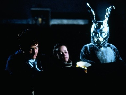 """After seeing the beguiling mess that was Velvet Buzzsaw, I was thinking about its redeeming quality, which was Jake Gyllenhaal's performance as the inflated art critic Morf. That led to think about one of Gyllenhaal's other good performances, which is, of course, his portrayal of troubled teenager Donnie Darko in the 2001 film with same name.  Donnie Darko is an American sci-fi movie in which the main character Donnie meets a monstrous rabbit that tells him that the world is going to end in 28 days.  Since the movie was released in the early noughties, it has gained a cult following because of its great combination of """"coming-of-age"""", surrealism, sci-fi and intriguing characters, where one should mention the late Patrick Swayze for playing a very creepy character.  The iconic design of Frank, the rabbit who """"haunts"""" Donnie has since the movie came out become a cult Halloween costume similar to the Anonymous mask from V for Vendetta.  Be sure to check out Donnie Darko, but stay away from director Richard Kelly's 2009 movie, The Box, that movie sucks."""