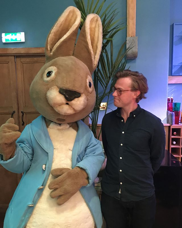 As a continuation to the last post in I which talked about the reimagined CGI/live action version of Peter Rabbit, I wanted to address the source material, which was introduced to the public through The tale of Peter Rabbit, the book that jolted Beatrix Potter into celebrity status as well made her a rich children's book author.  The Tale of Peter Rabbit follows the mischievous young rabbit Peter who lives with his mother and his three smaller sisters. Peter is disobedient and reckless and he enters the vegetable garden of a man named Mr. McGregor even though his father had been killed in the same garden by Mr McGregor and turned into a pie by Mrs. McGregor.  As the story unfolds Peter, of course, is discovered by Mr McGregor and almost faces the same fate as his father. It is classic children's tale with a clear morale.  Even though Beatrix Potter's story of the feisty rabbit with the blue jacket was rejected by numerous publishers, she finally got it published in 1902, and it became an instant success. In fact, the Tale of Peter Rabbit has been translated into 36 languages, and with 45 million copies sold it is one of the best-selling books of all time.  The success of course spawned several sequels, for instance the The tale of Benjamin Bunny, Peter's cousin, and countless adaptations and tons of merchandise. As a matter of fact, Beatrix Potter was a very clever business woman, and when she understood that she had a success on her hands, she made a lot of Peter Rabbit toys to accompany the books. Nowadays, it is commonplace, but in the beginning of the last century, it was uncommon.  Finally, if you think a book that has sold 45 million copies must be the most sold book featuring a rabbit, you are wrong. Watership Down has sold 50 million copies and that novel was written 70 years after Peter Rabbit's published appearance. Richard Adam's portrayal of the rabbits that need to find a new home will also addressed in a later post.